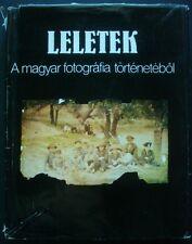 Leletek A Magyar fotografia tortenetebol History of Hungarian photo