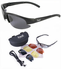 Mile High PILOT SUNGLASSES With Interchangeable Lenses. CAA Compliant. UV 400