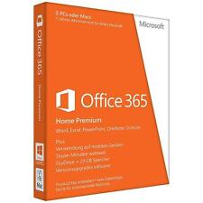 Microsoft Office 365 Home PREMIUM 5 PC/Mac + tablet 1 Jahr Abonnement