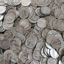 Mercury Dime 1916-1945 Constitutional Junk Silver