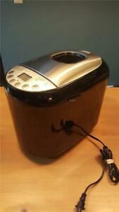 CURTIS STONE 2 lb Bread Maker Model 676-748 Stainless & Black USED ONCE 10222BK