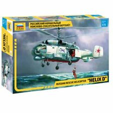 ZVEZDA Z7247 Kamov KA-27 PD 'Helix D' Russian Helicopter 1:72 Plastic Model Kit