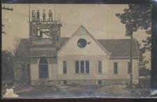 REAL PHOTO Postcard CANADA  Unknown Area Church Construction 1910's?