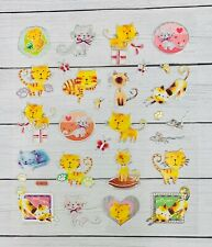 Kitty Cat Love Foil  Stickers Pets Animals Stickers Planner Papercraft Party
