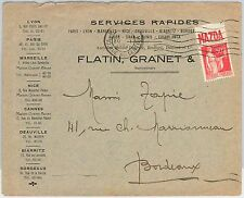 56720  - FRANCE - POSTAL HISTORY:  ADVERTISING STAMO on cover: MAZDA Electricity