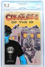 Creatures of the Id #1 Caliber 1990 CGC 9.2 1st Madman Frank Einstein - JK849