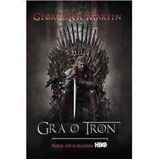 GRA O TRON Martin George R.R. POLSKA KSIAZKA Szybka wysylka!!!