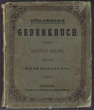 German History 1850: Monuments, Architecture of Nurnberg (Nuremberg), J G Wolff
