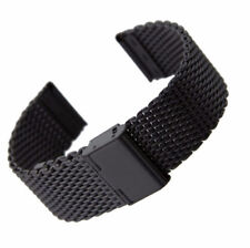 Milanese Watch Band Link Bracelet Wrist Strap 20 22mm Mesh Stainless Steel