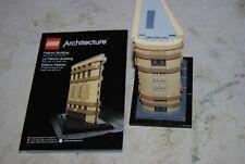 LEGO Architecture Flatiron Building 21023 - RETIRED W/ Instructions NO Box