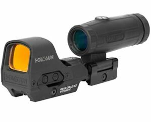 HOLOSUN 510C & MAGNIFIER BLK COMBO HS510C-HM3X FREE EXPEDITED SHIPPING!