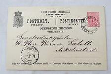 postcard brevkort Suomi Finland Finnland Finska Nikolaistad 1891
