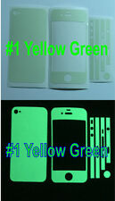 iPhone 4S * Matte * Glow in the Dark Full Body Skin sticker  ( Stronger Glow )