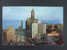 Chicago Illinois IL Veterans Research Hospital Furniture Mart Postcard 1950s