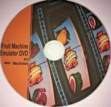 400+ máquinas de fruta real en su máquina de Emulador de simulador de software de PC en DVD