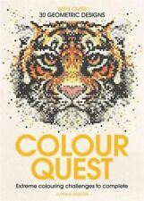 Colour Quest by Joanna Webster - 30 Geometric Designs - paperback