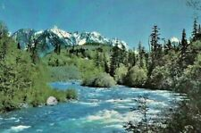 Vintage Postcard 76 Gasoline Union Oil Skyhomish River Washington Unposted