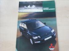 52713) Mitsubishi Space Wagon Prospekt 12/2002
