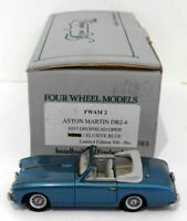 Four Wheel Models 1/43 Scale FWAM2 -1953 Aston Martin DB2-4 D/Head Open - Blue