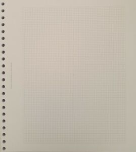 22 Ring stamp album pages for old style SG albums - 50 pages - size 28cm x 23cm
