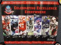 Vintage Hall Of Fame Celebrating Excellence Bills Raiders NY NFL Football 1980's