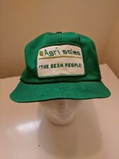 Trucker Hat K Brand Product AGRI SALES THE BEAN PEOPLE Retro Patch Vintage USA