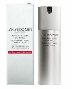 Shiseido Men Total Revitalizer Light Fluid 2.7oz / 80ml Sealed & NIB MSRP $68