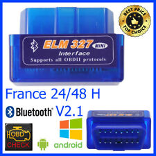 INTERFACE Mini ELM 327 BLUETOOTH OBD2 DIAGNOSTIQUE DIAG SCAN VOITURE ELM327 FR