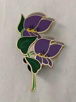 Purple Violets Eleonore Bridge Alice In Wonderland Collection DLP LE400 Pin