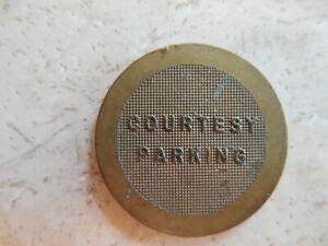 Card-Key System Courtesy Parking Token