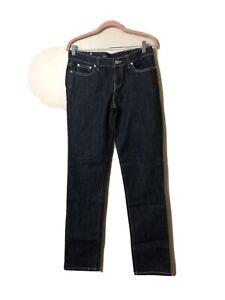 Women's London Jeans Brand Silver Sparkle Jeans. Size 8.