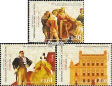 Portugal 3142-3144 (compleet Kwestie) gestempeld 2007 200 Years Rechnungshöfe