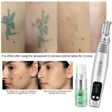 Picosecond Laser Pen Tattoo Scar Freckle Removal Machine Skin Beauty+ Repair Gel