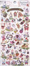 San-X Alice Sentimental Circus Sticker Sheet (28202)~KAWAII!!