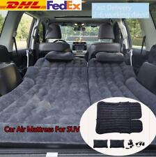 Inflatable Travel SUV Car Air Bed Camping Mattress Back Seat Sleep Pillow/Pump