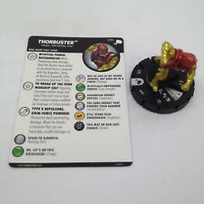 Heroclix The Mighty Thor set Thorbuster #035 Rare figure w/card!