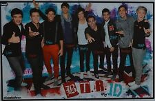 BIG TIME RUSH & ONE DIRECTION - A3 Poster (ca. 42 x 28 cm) - Clippings Sammlung