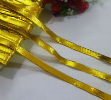 LOT 20 Yards Metallic Gold Lace Trim For Sewing/Craft Wide 1.2 CM