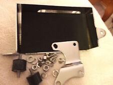 harley FXE FXWG wide glide battery 73-79 chromed hardware pad 66191-73t