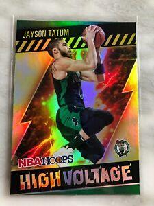2020-21 NBA Hoops Jayson Tatum HIGH VOLTAGE
