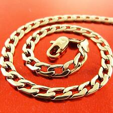 18k Yellow Gold Filled Chains & Necklaces for Men