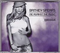 Britney Spears - Me Against The Music - CD (+ Poster 4 x Track)
