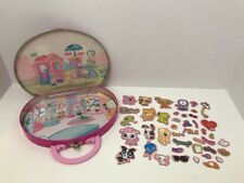 LITTLEST PET SHOP MAGNETIC PLAYSET LPS TIN CASE TRAVEL MAGNETS PURSE TOTE TOY