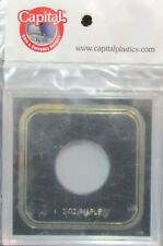 "CAPITAL PLASTICS: ""VPXML"" 3-1/2X3-1/2"" 1OZ MAPLE LEAF COIN DISPLAY W/FREE SHP."