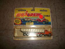 MAJORETTE DOUBLE series 300 GMC TRUCK Heavy Duty Dump Truck Semi