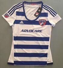 MLS FC Dallas Adidas Soccer Jersey Women's Sizes Retail $75