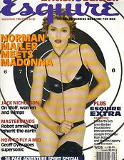 MADONNA UK Esquire Magazine 9/94 JACK NICHOLSON GEORGIANN ROBERTSON PC