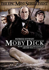 Moby Dick (DVD, 2015)The EPIC MINI SERIES EVENT Patrick Stewart Gregory Peck NEW