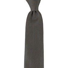 $145 NWT CORNELIANI Gold Bronze Silk Tie - Made in Italy