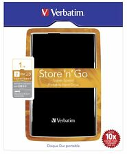 "Externe Festplatte Verbatim Store n Go 2,5"" 1TB USB 3.0 schwarz"